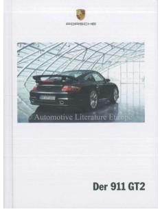 2009 PORSCHE 911 GT2 HARDCOVER PROSPEKT DEUTSCH
