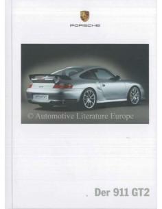 2005 PORSCHE 911 GT2 HARDCOVER PROSPEKT DEUTSCH