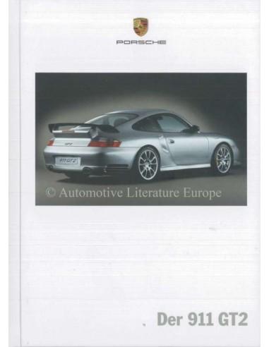 2004 PORSCHE 911 GT2 HARDCOVER BROCHURE DUITS