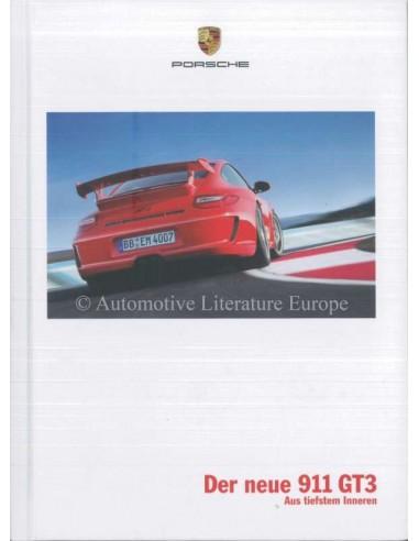 2009 PORSCHE 911 GT3 HARDCOVER BROCHURE DUITS