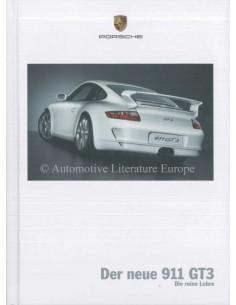 2006 PORSCHE 911 GT3 HARDCOVER PROSPEKT DEUTSCH