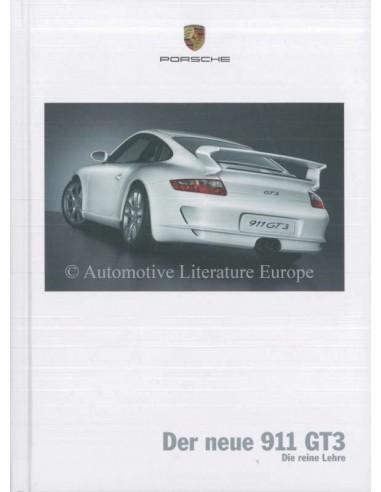 2006 PORSCHE 911 GT3 HARDBACK BROCHURE GERMAN