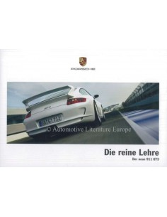 2006 PORSCHE 911 GT3 BROCHURE GERMAN
