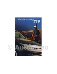 1995 HOLDEN UTE BROCHURE AUSTRALISCH
