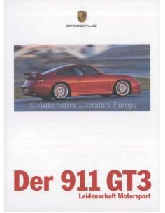 1999 PORSCHE 911 GT3 PROSPEKT DEUTSCH