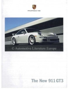 2006 PORSCHE 911 GT3 BROCHURE ENGLISH US