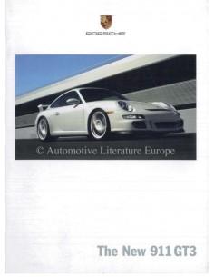 2006 PORSCHE 911 GT3 PROSPEKT ENGLISCH USA