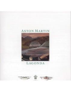 1986 ASTON MARTIN LAGONDA BROCHURE ENGLISH