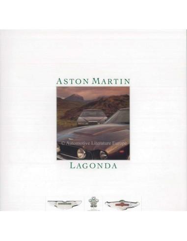 1986 ASTON MARTIN LAGONDA BROCHURE ENGELS