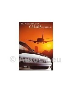 1996 HOLDEN CALAIS SERIES II BROCHURE AUSTRALIAN