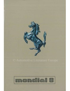 1980 FERRARI MONDIAL 8 OWNERS MANUAL 191/80