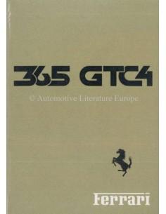 1971 FERRARI 365 GTC/4 BETRIEBSANLEITUNG 54/71