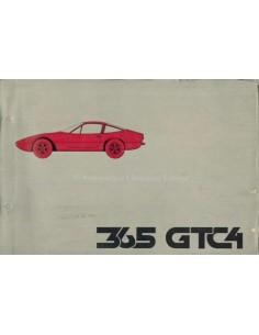 1971 FERRARI 365 GTC4 ONDERDELENHANDBOEK 59/71