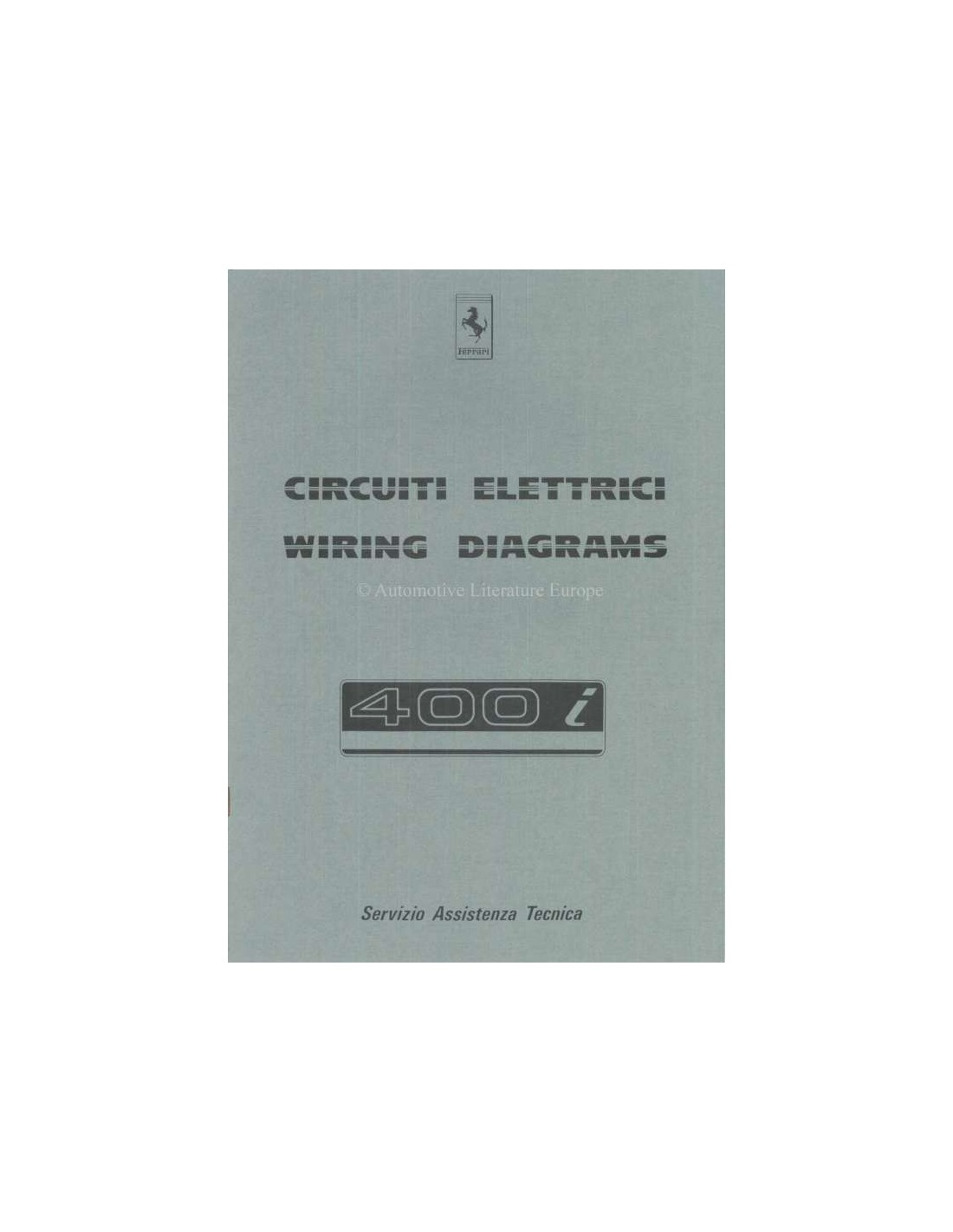 1983 ferrari 400i wiring diagram repair manual 291 83 ferrari 400i wiring diagram repair manual 291 83 ferrari 400i wiring diagram at edmiracle.co