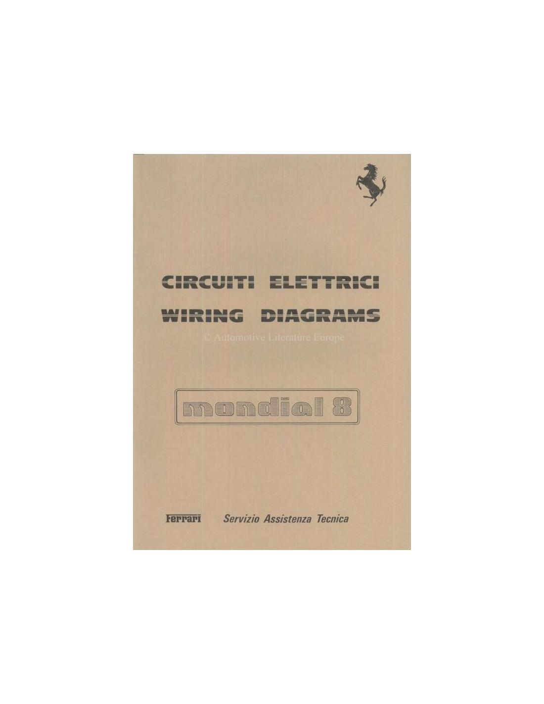 ferrari 328 wiring diagram ferrari 308 gts wiring diagram