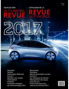2017 AUTOMOBIL REVUE YEARBOOK GERMAN FRENCH