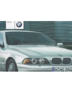 2001 BMW 5 SERIES OWNERS MANUAL DUTCH