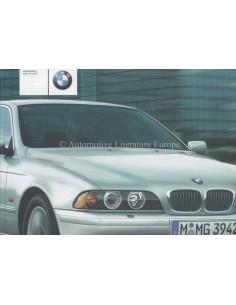 2001 BMW 5 SERIES OWNERS MANUAL DUTCH