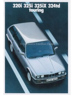 1988 BMW 3 SERIE TOURING BROCHURE DUITS