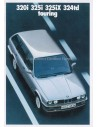 1988 BMW 3 SERIES TOURING BROCHURE FRENCH