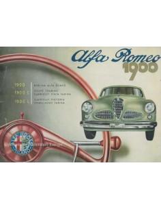 1953 ALFA ROMEO 1900 BROCHURE