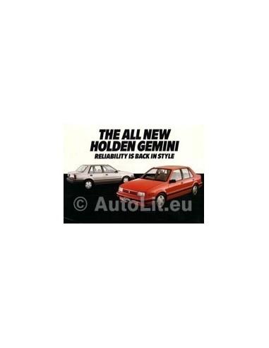 1985 HOLDEN GEMENI LEAFLET AUSTRALISCH
