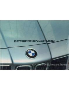 1982 BMW 6ER BETRIEBSANLEITUNG DEUTSCH