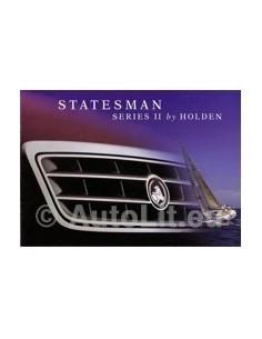 1996 HOLDEN STATESMAN SERIES II BROCHURE AUSTRALIAN
