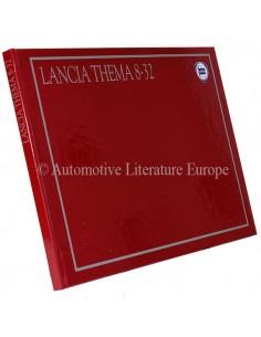 1987 LANCIA THEMA 8.32 HARDBACK BROCHURE ITALIAN