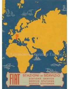 1956 FIAT SERVICE STATIONS HANDBOOK