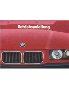 1993 BMW 3 SERIES OWNERS MANUAL GERMAN