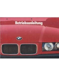 1993 BMW 3ER BETRIEBSANLEITUNG DEUTSCH