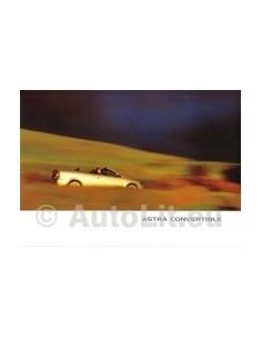 2005 HOLDEN ASTRA CONVERTIBLE BROCHURE AUSTRALISCH