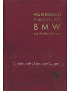 1934 BMW 315 INSTRUCTIEBOEKJE DUITS