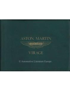 1992 ASTON MARTIN VIRAGE BETRIEBSANLEITUNG ENGLISCH