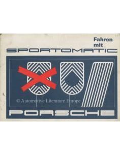 1969 PORSCHE 911 SPORTOMATIC BETRIEBSANLEITUNG DEUTSCH