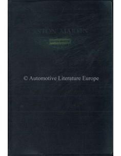 1979 ASTON MARTIN V8 BETRIEBSANLEITUNG ENGLISCH