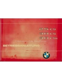 1975 BMW 2.5 CS 3.0 CS 3.0 CSI OWNERS MANUAL GERMAN