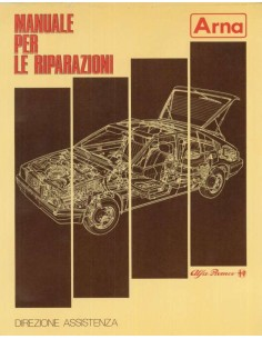 1985 ALFA ROMEO ARNA WORKSHOP MANUAL ITALIAN