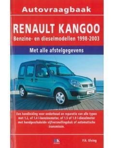1998 - 2003 RENAULT KANGOO BENZIN DIESEL REPERATURANLEITUNG NIEDERLÄNDISCH