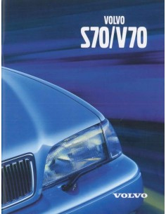 1999 VOLVO S70 / V70 BROCHURE ENGLISH