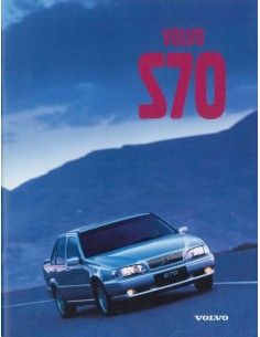 1998 VOLVO S70 BROCHURE GERMAN