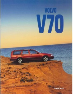 1997 VOLVO V70 BROCHURE GERMAN