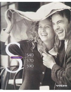 1997 VOLVO S40 / S70 / S90 BROCHURE DUTCH