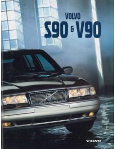1997 VOLVO S90 / V90 PROSPEKT DEUTSCH