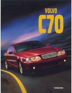 1997 VOLVO C70 PROSPEKT ENGLISCH