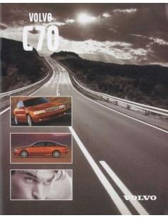 1997 VOLVO C70 COUPE BROCHURE DUTCH