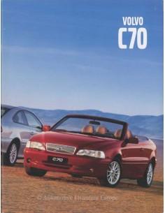 2001 VOLVO C70 COUPE / CONVERTIBLE BROCHURE DUTCH