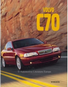 1997 VOLVO C70 COUPE PROSPEKT ENGLISCH