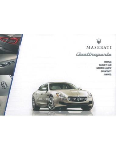 Maserati quattroporte maintenance warranty manual 2013 maserati quattroporte maintenance warranty manual sciox Images